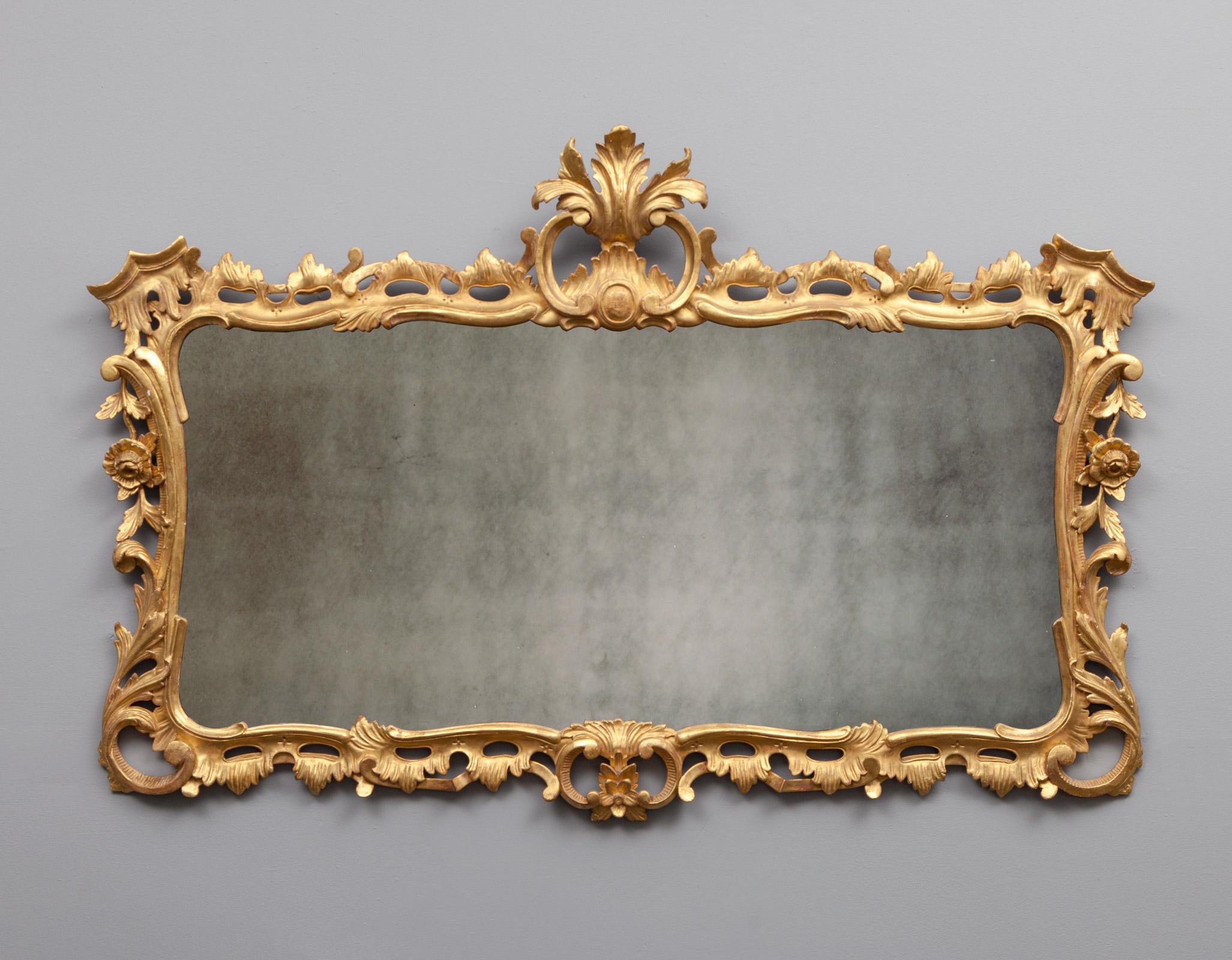 Antique mirror – AF087