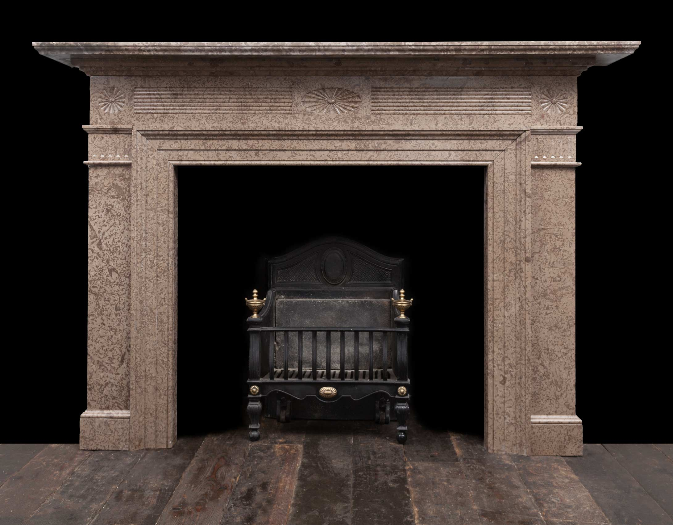 Marble fireplace – 19304