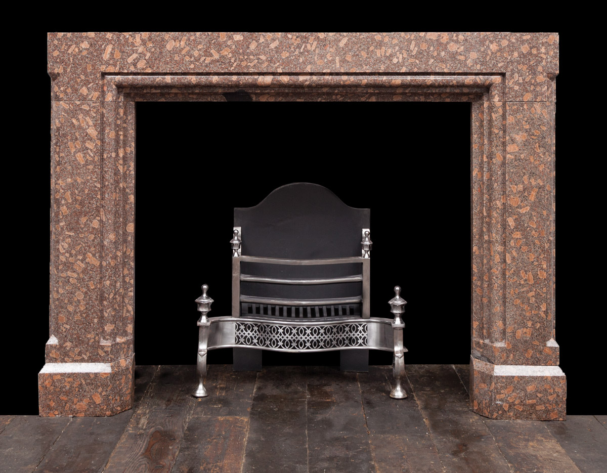Porphyry Fireplace – 19306