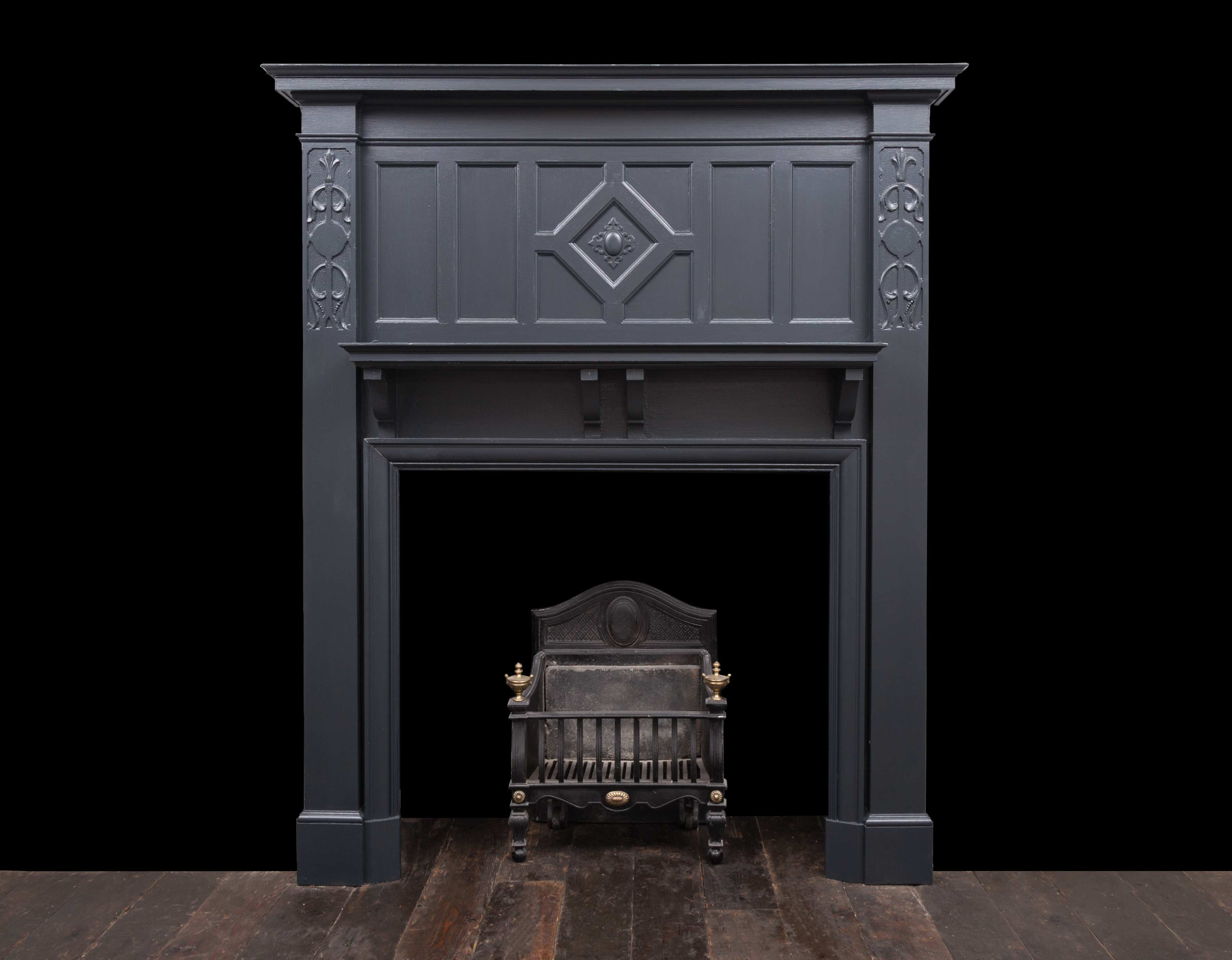 Wooden fireplace – W121