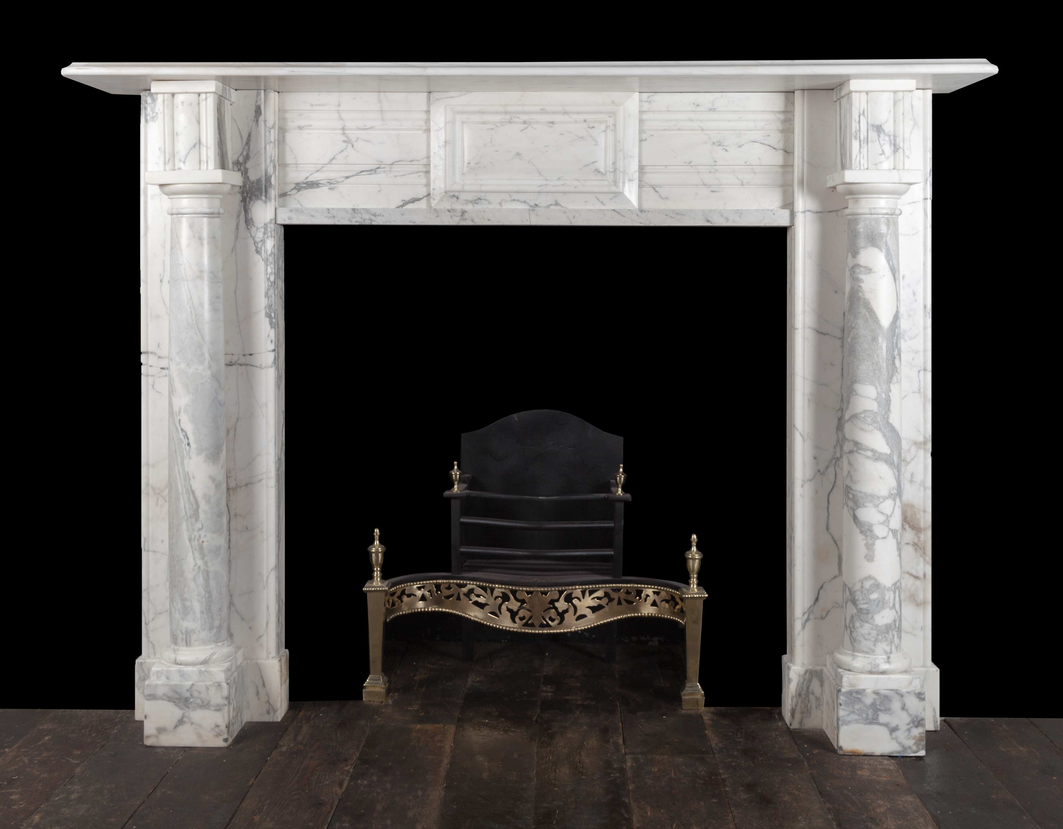 Marble fireplace – 19311
