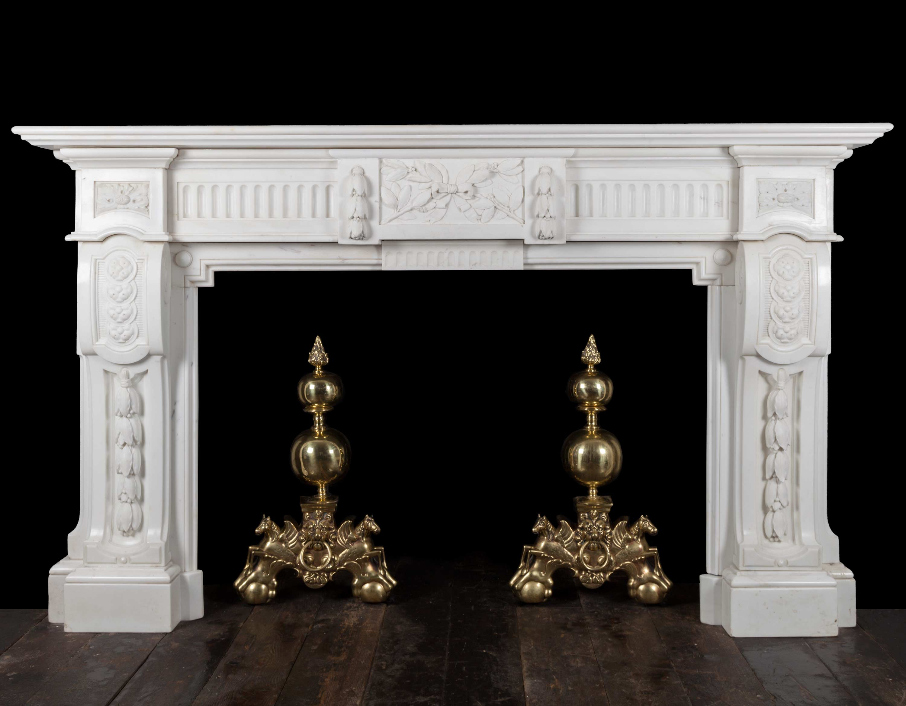 Marble fireplace – 19313