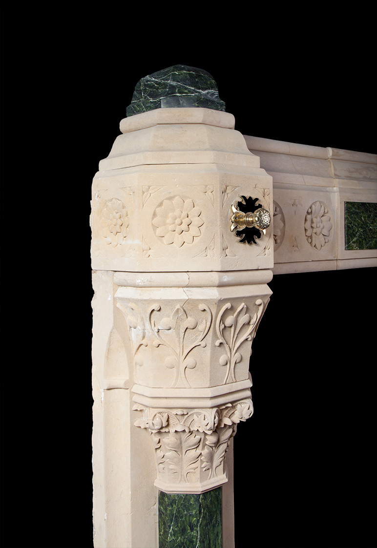 Gothic Revival Fireplace In The Manner Of Augustus Pugin # Augustus Pugin Muebles